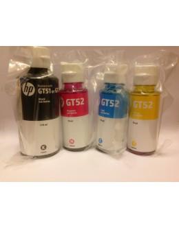 Z6Z97-60001 Оригинальные чернила HP HP GT52 и HP GT51 M0H54A, M0H55A, M0H56A, 1VU32A набор 4 цвета