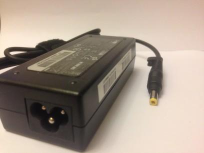 HP pn: 587303-001 Блок питания 65W тонкий желтый