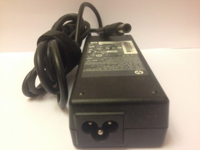 HP pn: 609940-001 Блок питания 90W толстый разъем с гвоздем