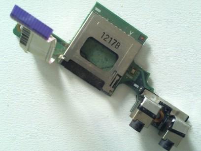 HP pn: 622614-001 Плата AUDIO UMA