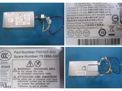 HP pn: 751884-001 Блок питания 240W