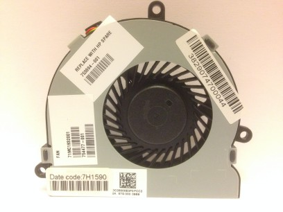 HP pn: 753894-001 Вентилятор