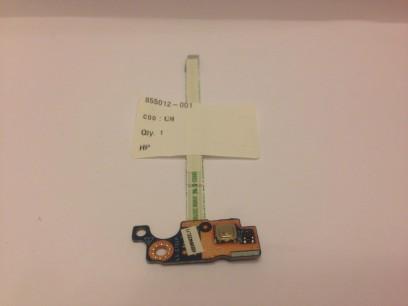 HP pn: 855012-001 Кнопка включения с кабелем