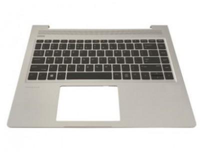 HP pn: L44060-251 Верхняя крышка с клавиатурой и тачпадом